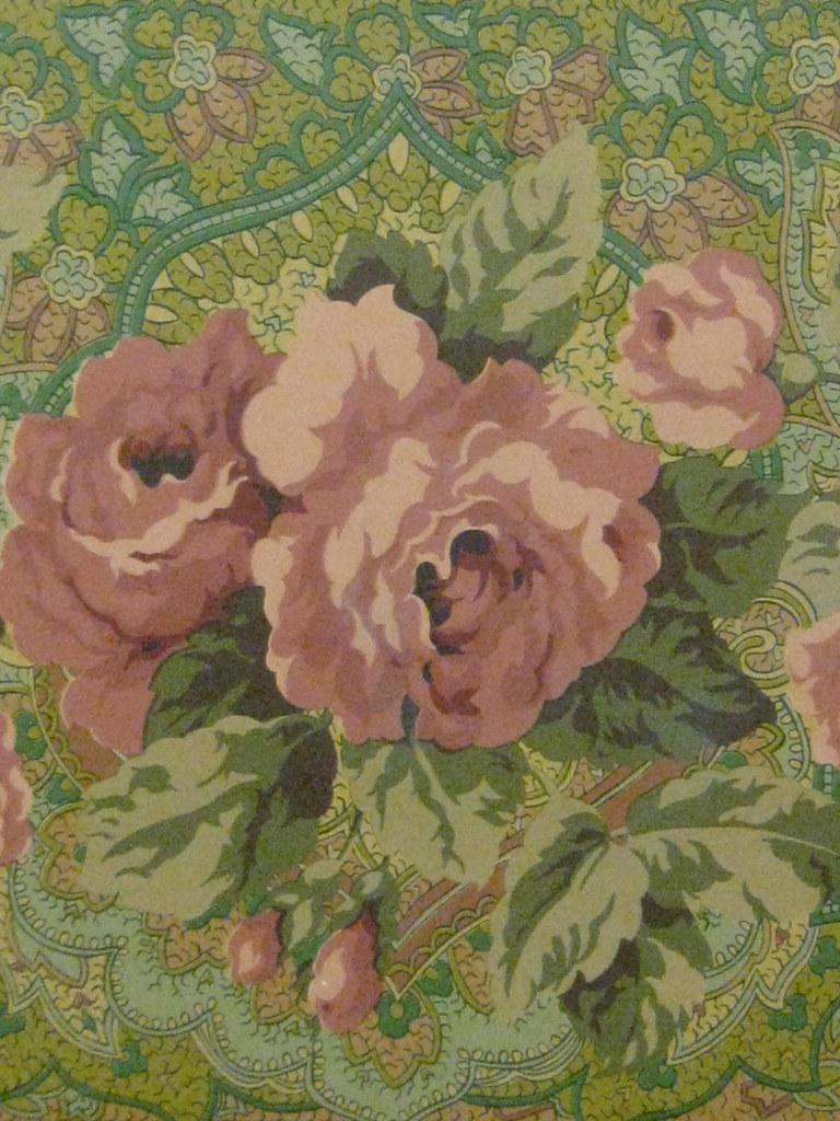 Detail Of The Art Nouveau Wallpaper Frieze Of The Ballarat Flickr