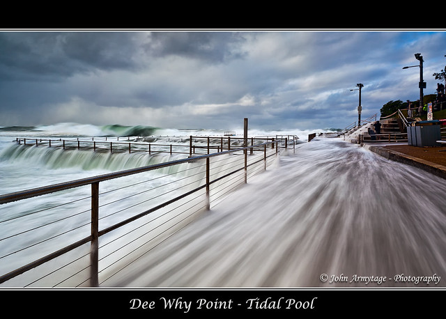 3rd Prize - SEASCAPE Category - Focus Photography Awards 2012 - Dee Why Point - Tidal Pool