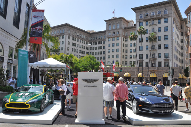 Aston Martin display