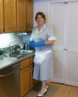 Chrisissy Sissy Maid in kitchen cleaning IV | by Chrisissy
