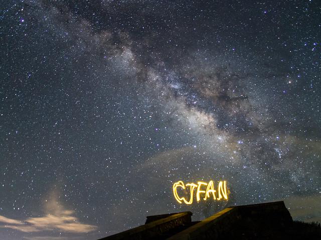 Galaxy 合歡 銀河 @ Mt. Hehuan.