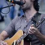 Fri, 27/07/2012 - 6:49pm - The annual 'folk' fest kicks off early - Friday evening- with Blitzen Trapper. Photo by Laura Fedele