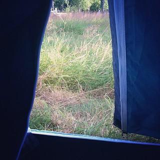 Utsikt från tält | by Jimmy Larsson