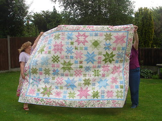 Oh My Stars - finished and windy