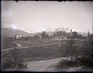Pomona College campus view (1900)