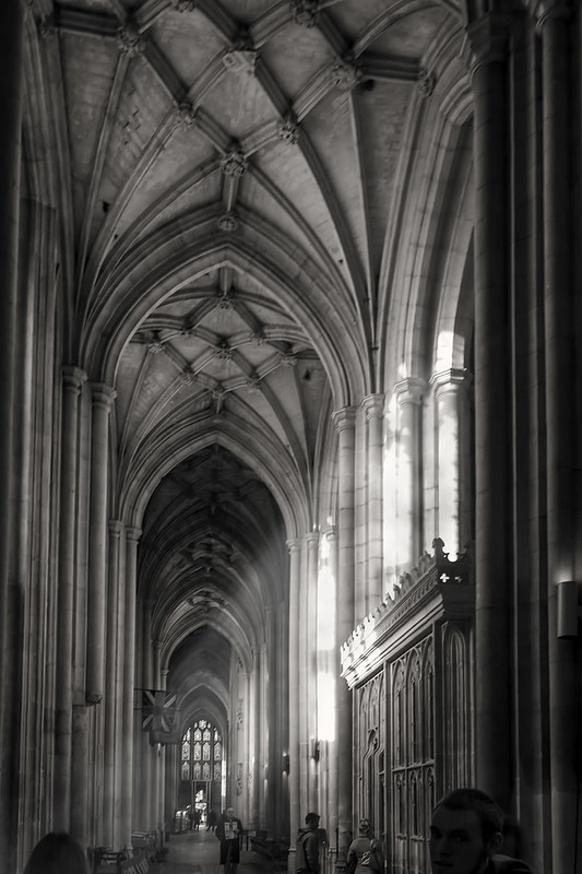 Gothic Vaulted Ceiling.