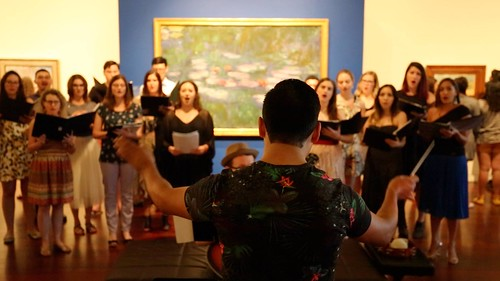 From Those Who Follow the Echoes at McNay June 2017