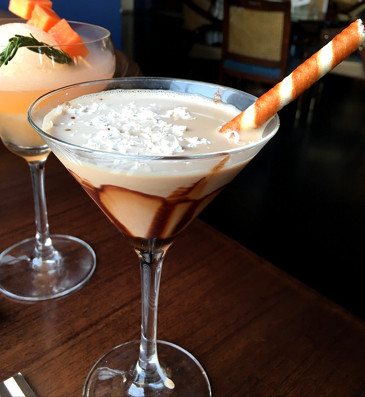 Smokey Chocolate Martini