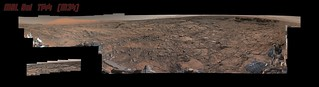 Curiosity Rover Sol 1144 Mastcam Composite | by Processing Planetary Images & Enhancements For Fun