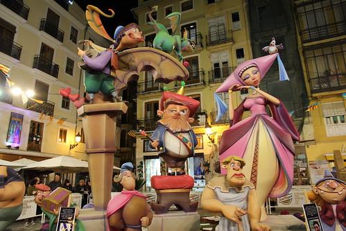 Falla Plaza Lope de Vega   by nigel_78