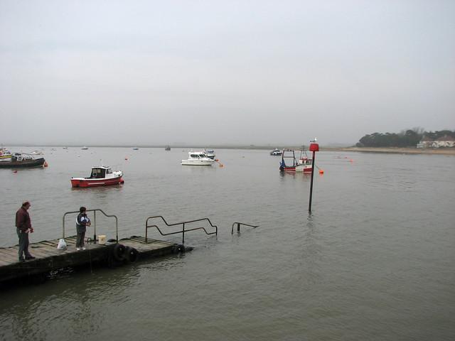 The River Deben at Felixstowe Ferry
