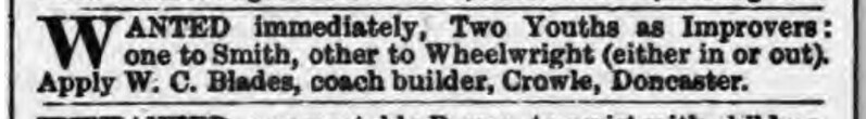 Stamford Mercury - Friday 14 March 1884