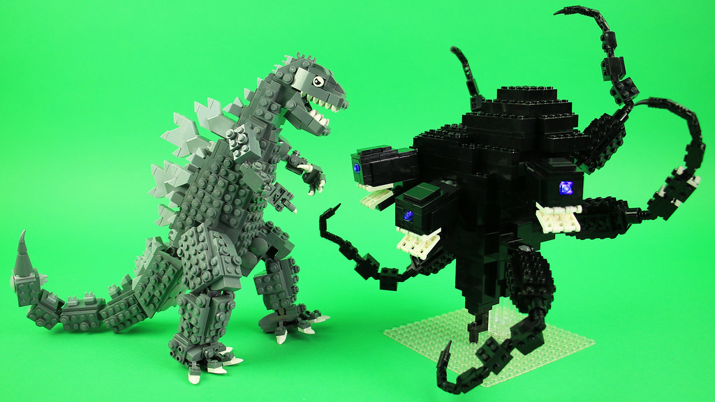 Lego Godzilla Vs Wither Storm See How To Build It Www You Flickr