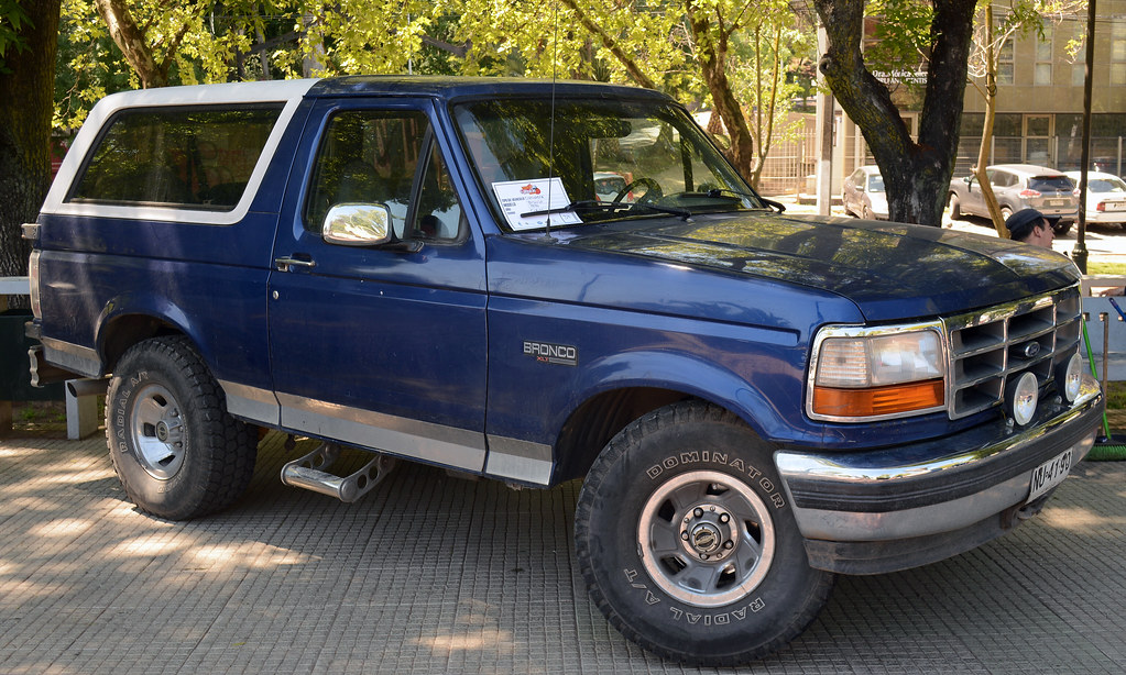 1996 bronco value