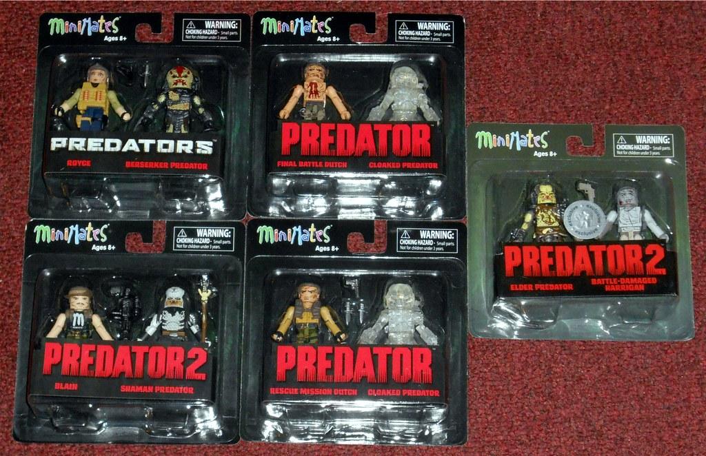 Predator Minimates Series 3 Final Battle Royce