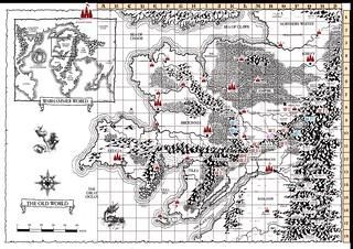 WorldMap Questbook1 | by wagenerandi
