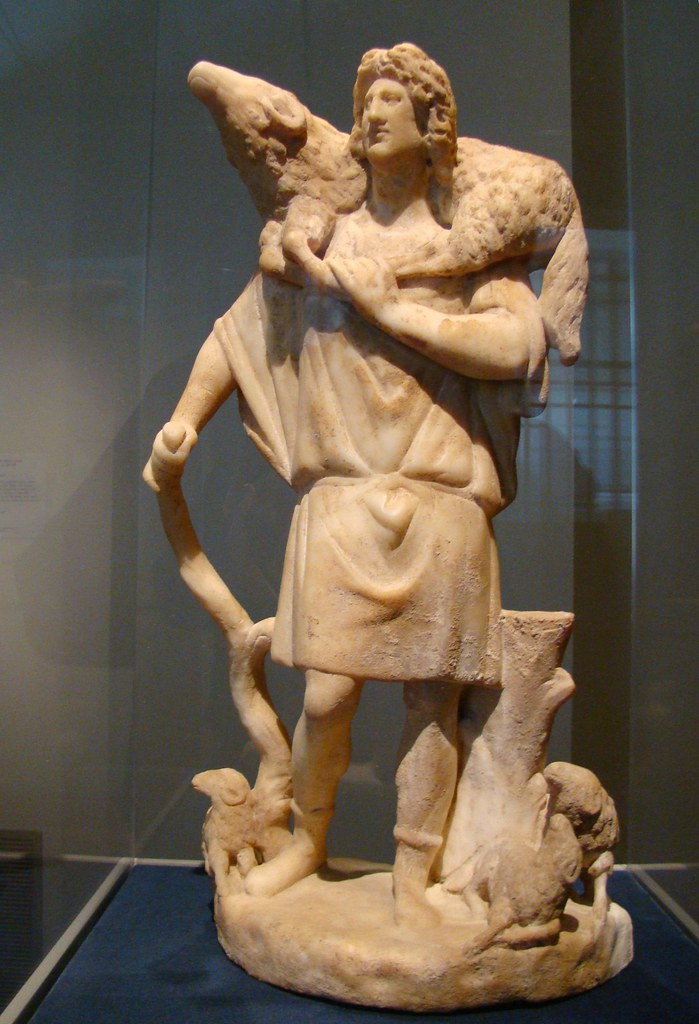 The Good Shepherd 280 290 Ad From Roman Asia Minor