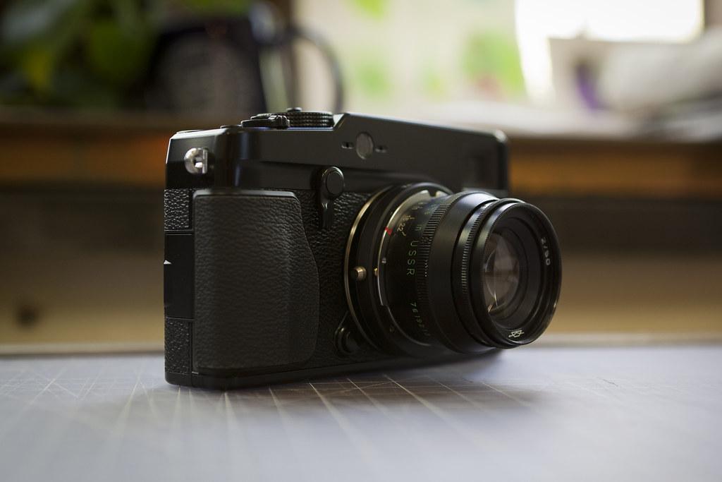 Fuji X-Pro 1, Jupiter 8 (50mm f/2) using Kipon Adapter   Flickr