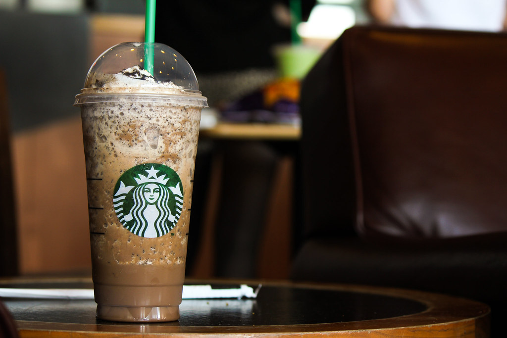 Mocha Cookie Crumble Frappuccino I Enjoyed Taking Pictures