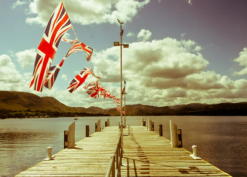Union Jacks on a Jetty | by Photos by Scott Dolan