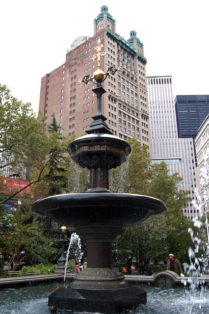 Fountain at City Hall