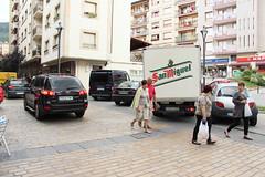 Las personas obligadas a convivir con los vehículos
