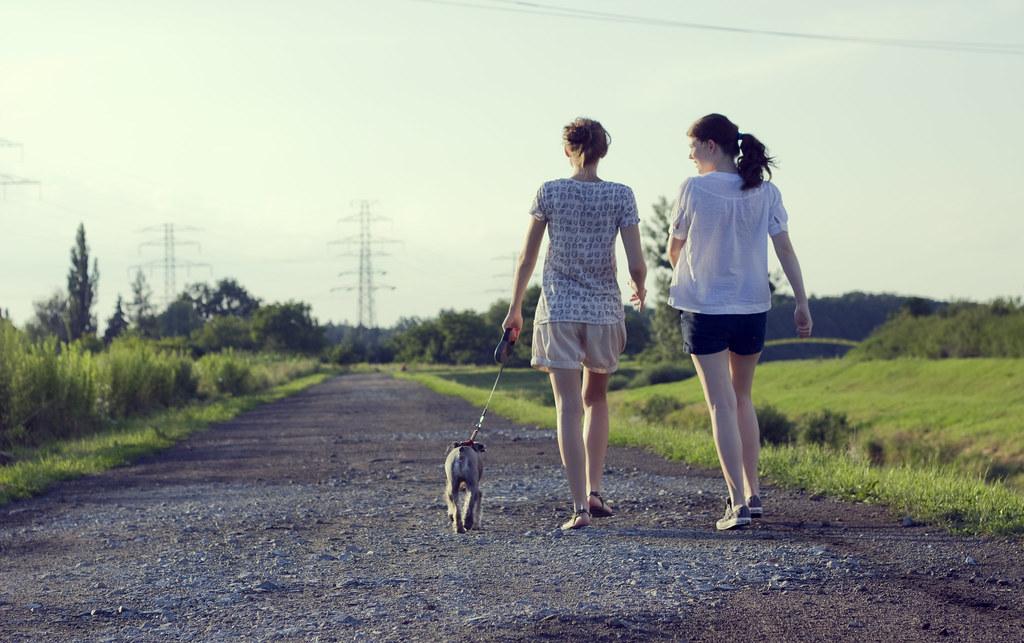 Walking the dog | Eve | Flickr