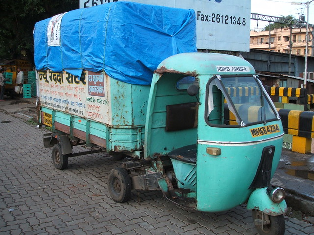 The confounded articulated tuk tuk