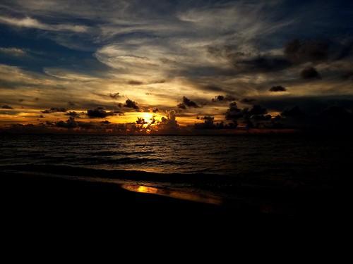 sunset beach pensacolabeach skyporn sky clouds galaxys7