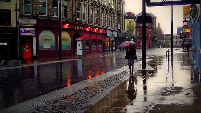 Yorkshire in the rainy season . .