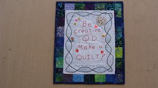 Be Creative QD finished