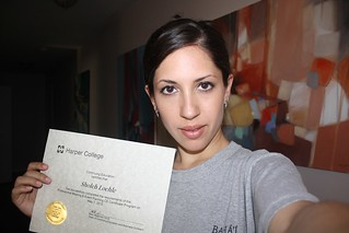 Just got my certificate in meeting & event planning!!   by Sholeh