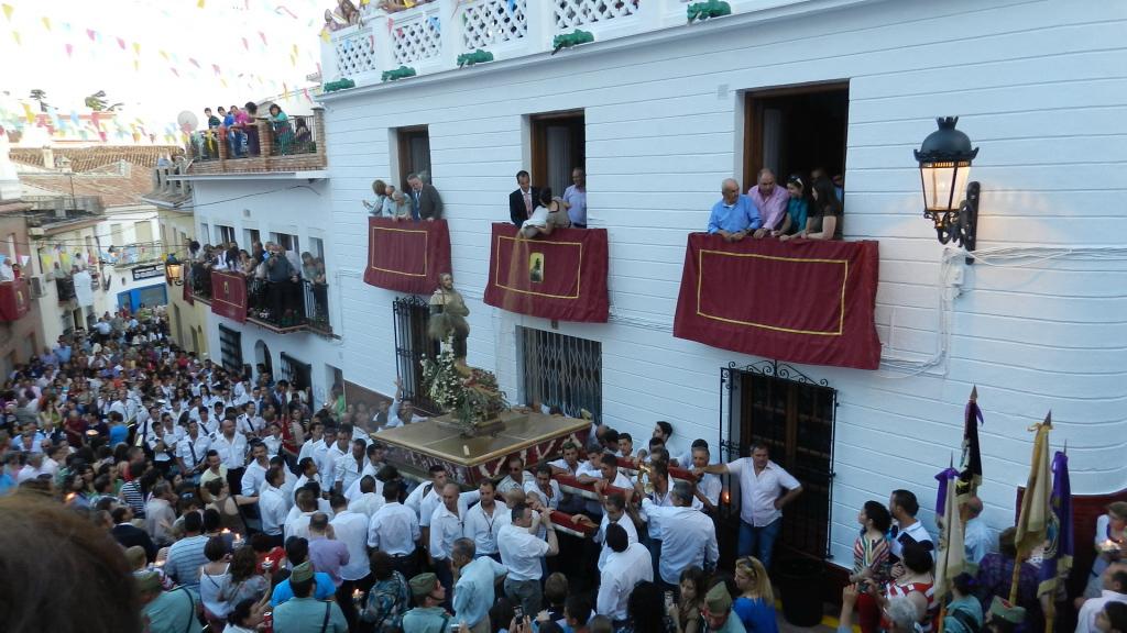 procesión San Isidro Labrador 2012 Periana Malaga