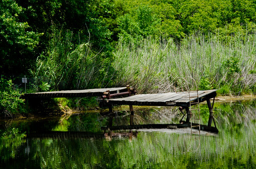 oklahoma pier pond swimminghole catoosa
