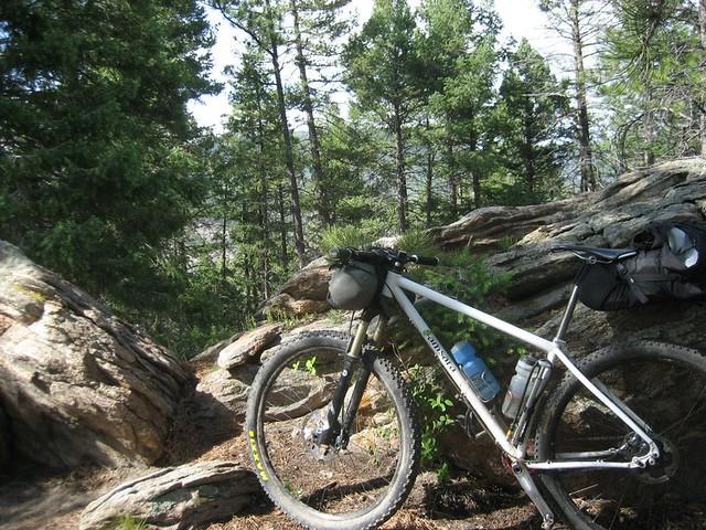 Nick's Samsara on the Colorado Trail