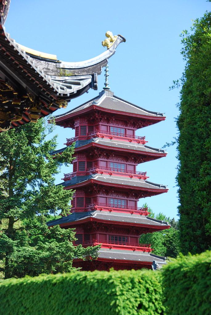 La Tour Japonaise The Japanese Towerbrussels Stephane