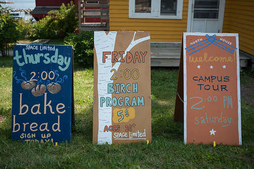 Signs in Grand Marais, Minnesota | by goingslowly