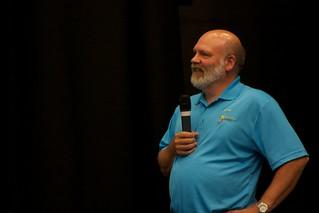Mark Leggot at the invitation to OR2013 on Prince Edward Island