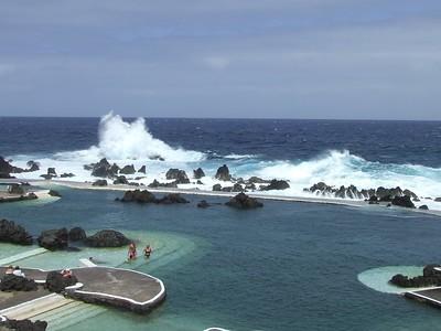 Madeira - Porto Moniz - Wave Fountains