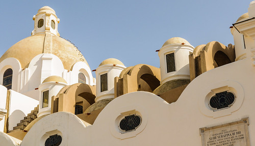 Capri: church roof