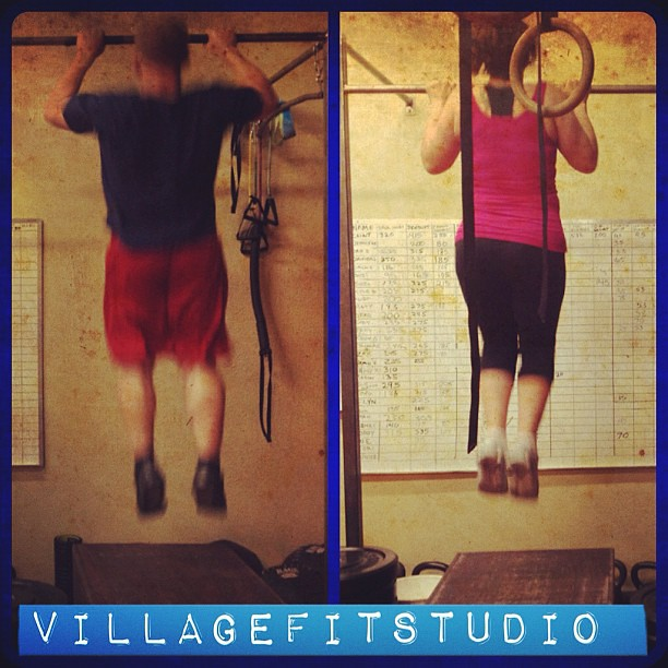 Workout of the day 100 jumping pull ups 100 push ups  100