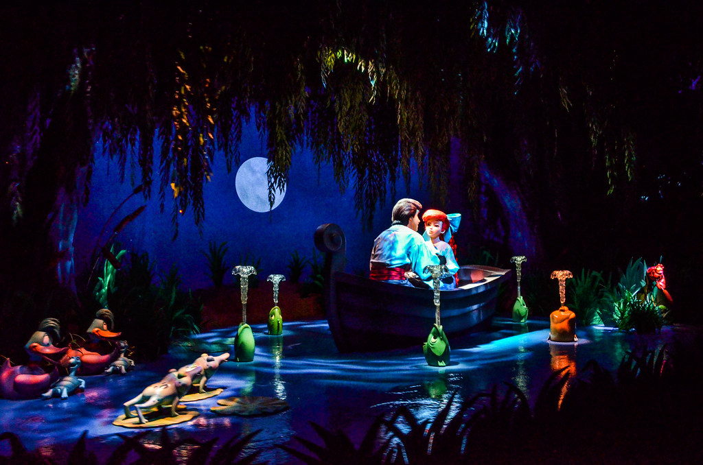 Little Mermaid Boat Scene