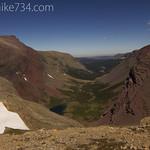Boulder Creek Valley from Siyeh Pass
