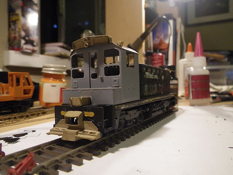 Athearn SW7 to SW1200RS Conversion Cab View | Conversion of
