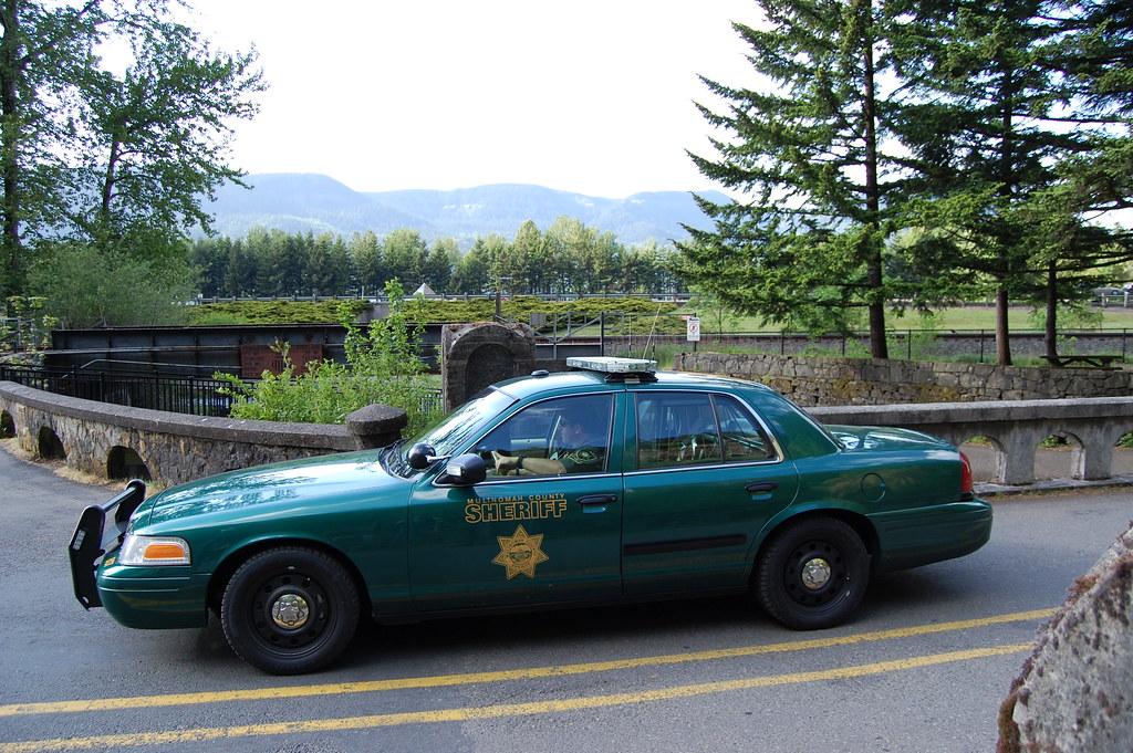 Multnomah County Sheriff | A Multnomah County Sheriff car on