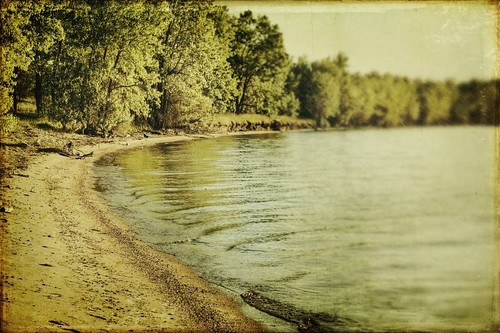 morning trees lake water canon vintage landscape sand colorado shore aged chatfield textured t1i applesandsisters