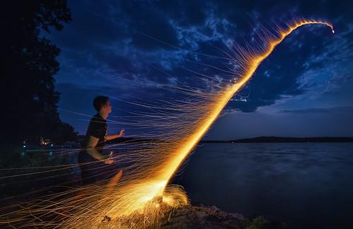 fireworks - 4th of july - bottle rocket   by Dan Anderson.