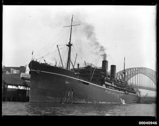 RMS MOLDAVIA II at Circular Quay