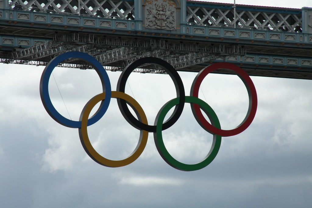 Olympic Rings - Tower Bridge
