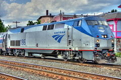AMTRAK Locomotive 186 by robtm2010